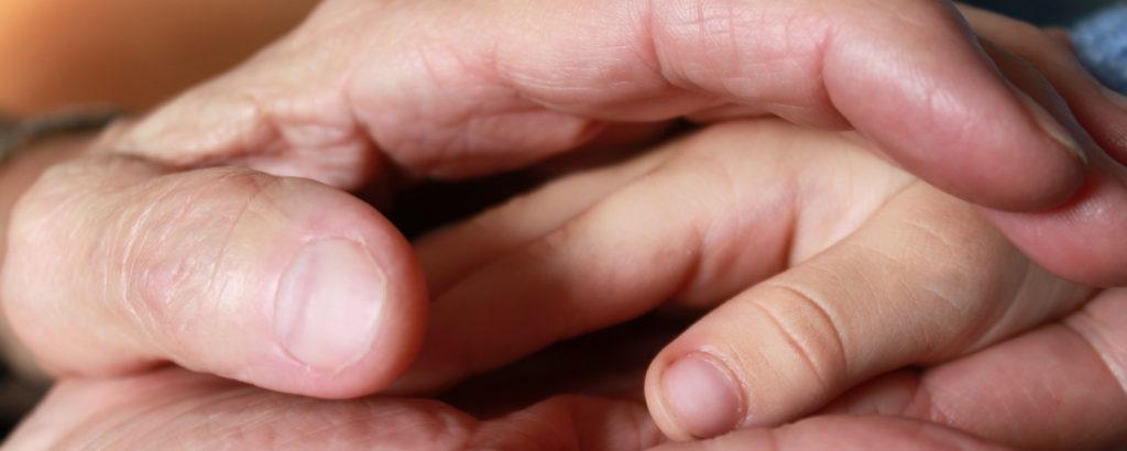 Sozialgruppe - Hand Halten